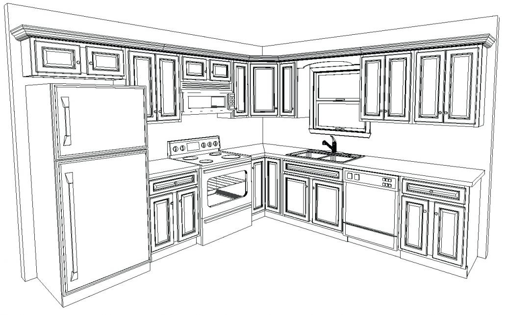 Custom Design Drawings_WildwoodKitchens